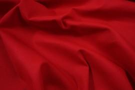 Bawełna panama w kolorze czerwonym