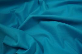 Bawełna panama w kolorze aqua