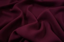 Tkania żorżeta w kolorze bordowym