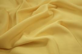 Tkania żorżeta w kolorze jasnożółtym