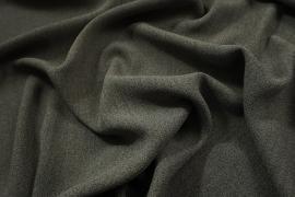Tkanina sukienkowa w kolorze szarego melanżu