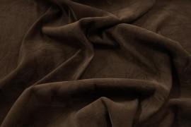 Tkania sukienkowa w kolorze brązowym
