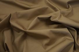 Tkanina bawełniana z domieszką lycry w kolorze beżowym