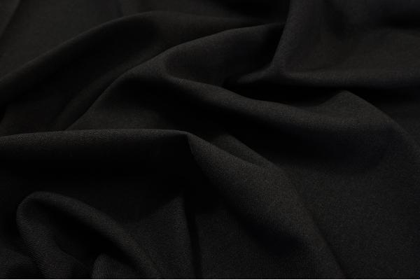 Tkanina sukienkowa w kolorze czarnym