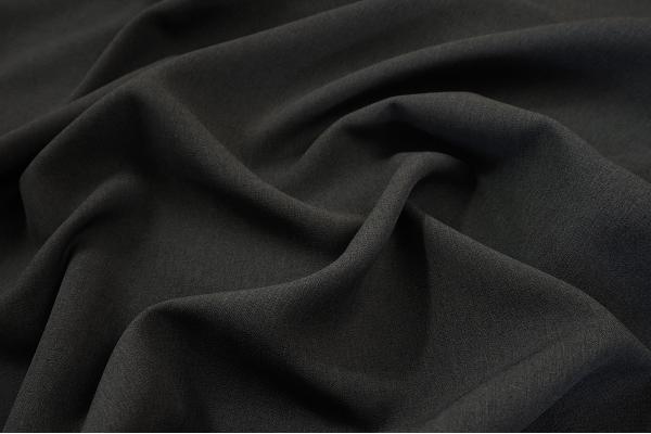 Tkanina sukienkowa w kolorze stalowym