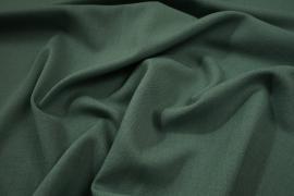 Tkanina sukienkowa z domieszką lycry i wiskozy w kolorze zielonym