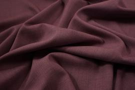 Tkanina sukienkowa z domieszką lycry i wiskozy w kolorze wrzosowym