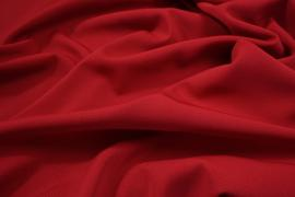 Tkanina sukienkowa bi-stretch z lycrą w kolorze czerwonym