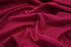 Tkanina sukienkowa bi-stretch z lycrą w kolorze fuksjowym