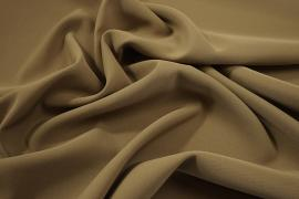 Tkanina sukienkowa z dodatkiem lycry w kolorze ciemnobeżowym