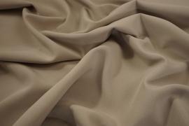 Tkanina sukienkowa z dodatkiem lycry i wiskozy w kolorze beżowym
