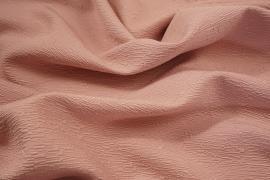 Tkanina sukienkowa z dodatkiem wiskozy w kolorze brudnego różu