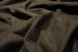 Tkanina tapicerska w kolorze ciemnobrązowym
