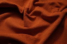 Tkanina tapicerska w kolorze ceglastym