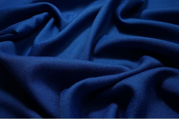 Tkanina tapicerska w kolorze chabrowym