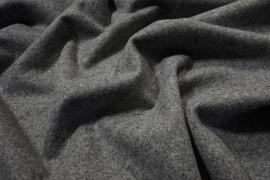 Tkanina wełniana w kolorze szarego melanżu