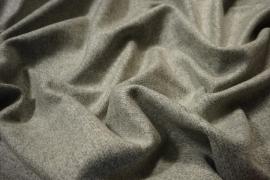 Tkanina wełniana w kolorze szaro-beżowego melanżu