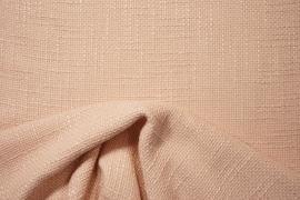 Tkanina wełniana z poliestrem w kolorze jasnołososiowym