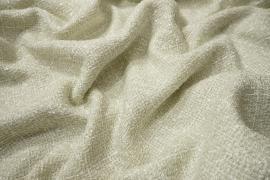 Tkanina wełniana w kolorze brudnej bieli