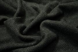 Tkanina wełniana w kolorze ciemnografitowym