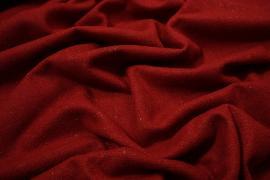 Tkanina wełniana w kolorze czerwonym