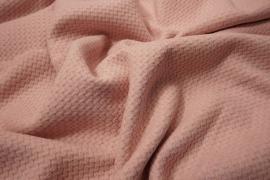 Tkanina wełniana w kolorze pastelowego różu