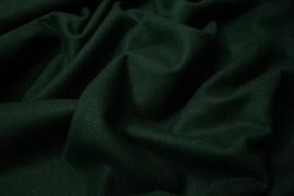 Wełna w kolorze butelkowej zieleni