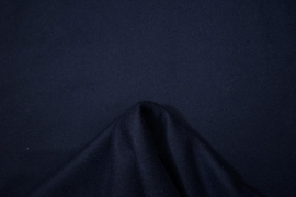 Tkanina wełniana - kolor granatowy