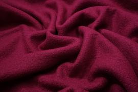 Tkanina wełniana z lycrą - ciemny amarant