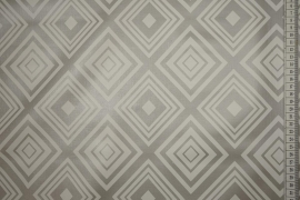 Cerata w kolorze stalowym w symetryczny wzór