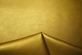 Ekoskóra w kolorze złotym
