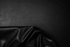 Ekoskóra / skaj w kolorze czarnym