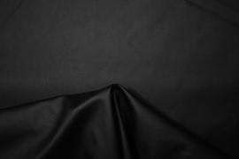 Ekoskóra z lycrą w kolorze czarny mat