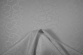 Tkania obrusowa w kolorze białym