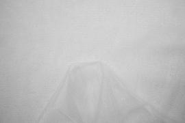 Tiul brokatowy w kolorze białym
