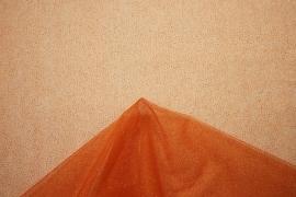 Tiul brokatowy - kolor pomarańczowy