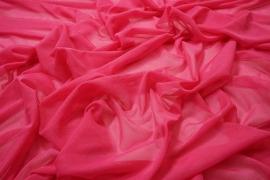 Tiul elastyczny w kolorze różowym