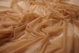 Tiul elastyczny w kolorze cielistym