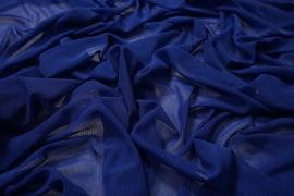 Tiul elastyczny w kolorze chabrowym