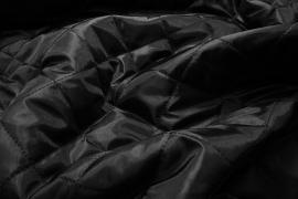 Podszewka pikowana w kolorze czarnym