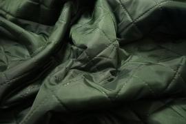 Podszewka pikowana w kolorze ciemnozielonym