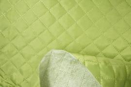 Podszewka pikowana w kolorze zielonym