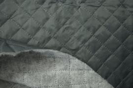 Podszewka pikowana w kolorze popielatym