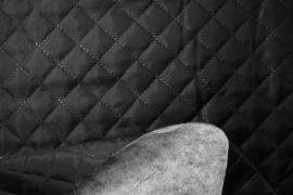 Podszewka pikowana - czarny