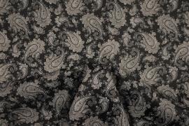 Podszewka drukowana - paisley