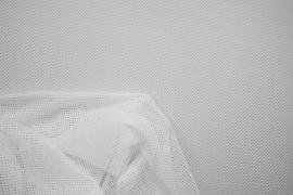 Siatka odzieżowa w kolorze białym