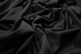 Siatka odzieżowa w kolorze czarnym