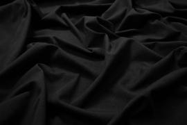 Dzianina jersey w kolorze czarnym