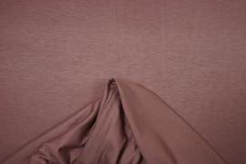 Dzianina bawełniana w kolorze kakaowym