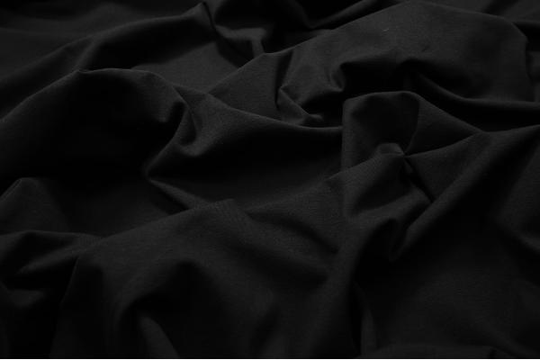 Dzianina jersey - kolor czarny